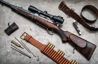 Spanish FR-8 Mauser Bolt Action Rifle