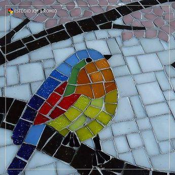 Mosaicos do Estúdio Joe &Romio #birds #mosaics