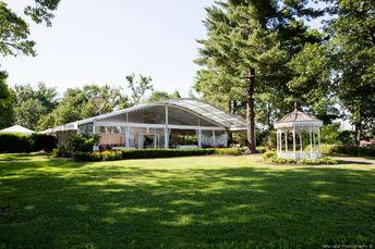 Alison & Patrick's real wedding by Glen Foerd on the Delaware