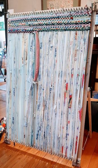 Loom, Big Boy Adjustable Twining Loom With Leg Set, Makes 3' X 5' rug Plus multiple sizes