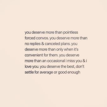 List of you deserve better quotes for her image results | Pikosy