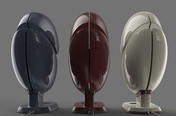 Kabuto - coffee maker concept design by Dor Leibman