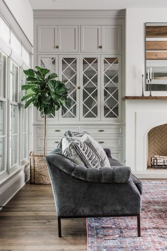 Magnolia Design & Construction   Living Room   Chip & Joanna Gaines   Waco, TX  