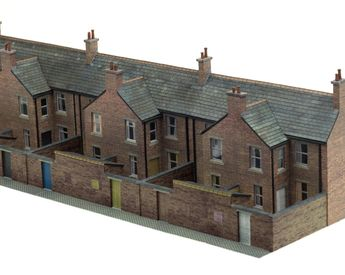 Architecture Papercraft: 48 German Village Buildings