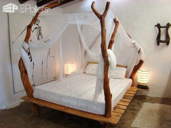 62 Creative Recycled Pallet Beds You'll Never Want To Leave!