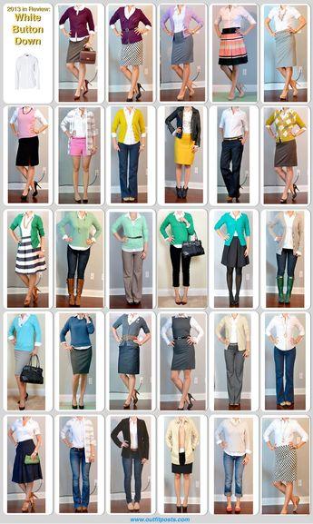 Fall Wardrobe Staple: A Button-Down Shirt (Part 2