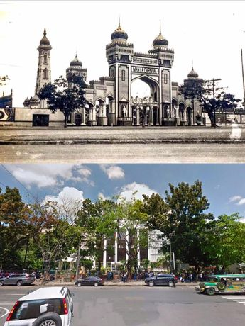 MANILA CARNIVALS or  NATIONAL LIBRARY of the PHILIPPINES  The Carnival original organizer was an American colonel named Captain George T. Langhorne  BEFORE AND AFTER  Location: Kalaw Ave. Ermita, Manila Philippines Wayback 1908 to 1939