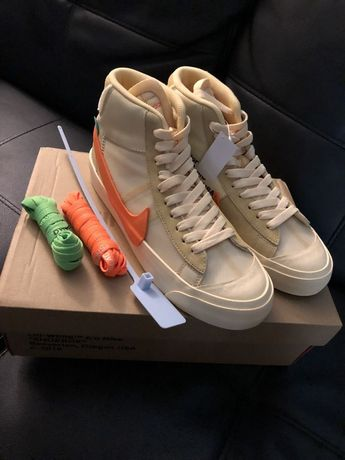 Nike Off White Mid All Hallows Eve AA3832-700 Size 8 #fashion #clothing #shoes #accessories #mensshoes #athleticshoes (ebay link)