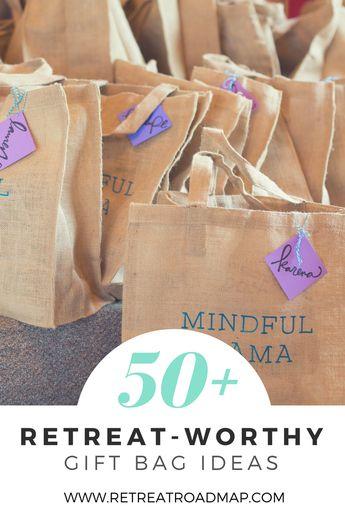 50+ Retreat-Worthy Gift Bag Ideas