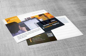 Creative Postcard Design Templates - Graphic Templates