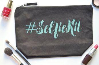 Makeup Forever Matte Velvet Skin Powder Foundation to Muji Makeup Bag Clear
