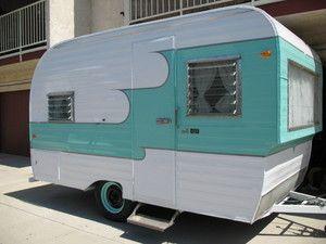 1961 Oasis travel Vintage Trailer Camper Canned Ham
