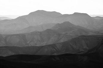 Mountains of the Judean Desert 10 Wall mural