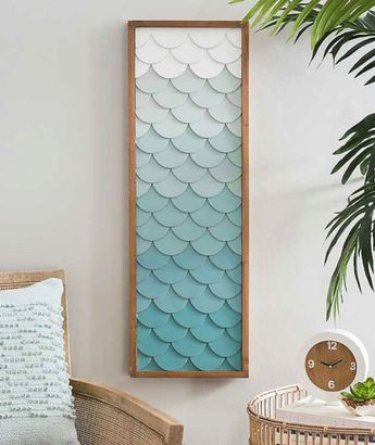 Fish Scale Wall Art Inspired by the Sea