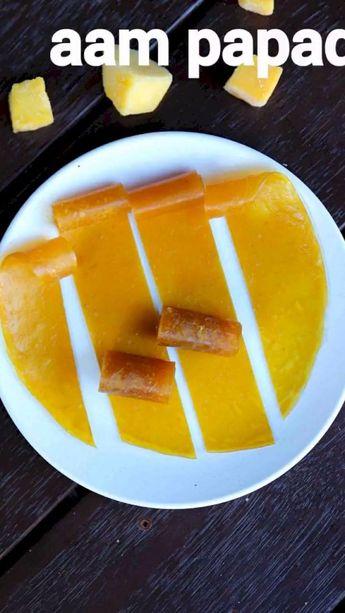 Aam papad recipe   mango papad   aam ka pappad