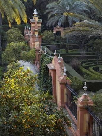 The Gardens of the Alcazar Palace, SevilleBy Krista Rossow