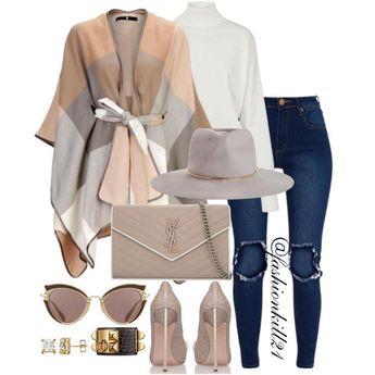 "FK21 on Instagram: ""Dress To Impress #fbm DETAILS: Poncho #Very Top #Louisvuitton Jeans #Cheapmonday Purse #Ysl Hat #Zimmermann Frames #Miumiu Shoes #Casadei…"""