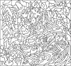 Nicole S Free Coloring Pages Color By Numbers Strawberri