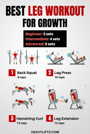 Best Leg Workout for Leg Growth