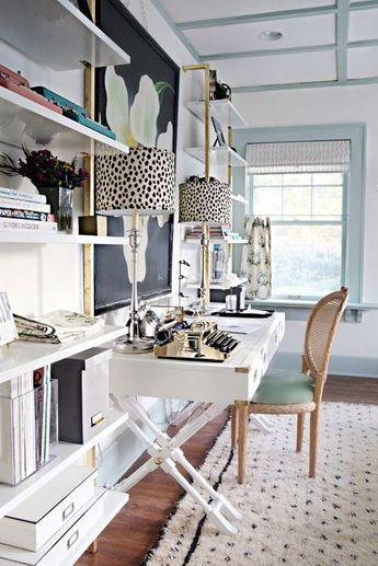 Inspiring Home Offices for Girl Bosses