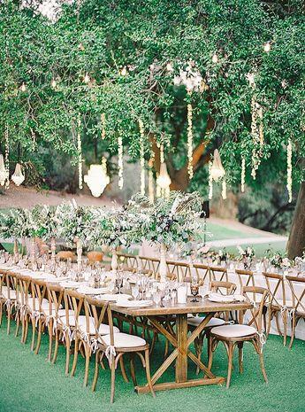Elegant Saddlerock Ranch Wedding in Malibu Photographed with Film