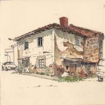 Old house in Guardo