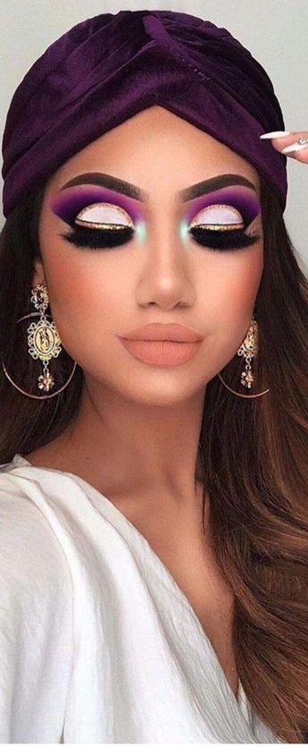 Wow Great gorgeous makeup for brunettes. #gorgeousmakeupforbrunettes