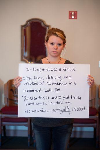 The faces of rape.