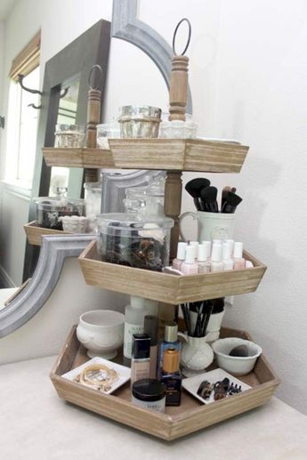 50+ Cool Makeup Storage Ideas That Will Save Your Time