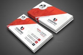 Classic PSD Business Card 002814 - Template Catalog