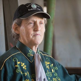 We are SO proud. CSU professor, Dr. Temple Grandin, has been named to the National Women's Hall of Fame.