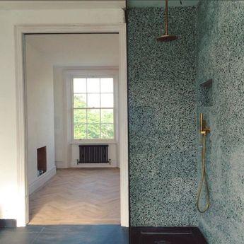 Best Terrazo Wall Bathroom Ideas