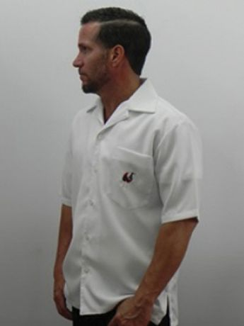 """6d8bcf0990 Cuban Rooster Shirt Casual Shirt Black Embroidered """"El Gallo"""" D Accord  5882Cuban Rooster"""