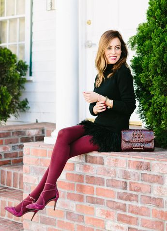 Holiday Party Outfits with Tights!