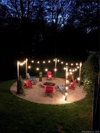 ✔70 beautiful farmhouse backyard decor ideas and design 14
