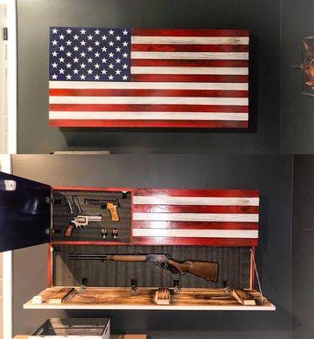 Rustic American Concealment Flag