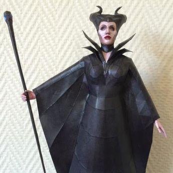 Disney Papercraft: Maleficent | Tektonten Papercraft