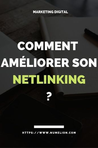 Vous avez un site Internet / un blog ? Vous allez devoir vous renseigner sur le netlinking. Il s'agit d'une stratégie de liens que l'on met en place pour améliorer la visibilité et la notoriété d'un site Internet / blog.#netlinking #seo #referencement #notoriete #business