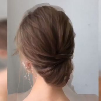 Is there hair in order? Here's the key point. Your hair is long or short, you know that each model will look very stylish. But you have to decide on a single model and it is very worrying to know that. #hairstyle #hair #updo #hairtutorial #weddinghair #bridalhair #hair