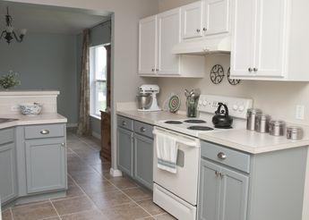 My two tone kitchen!