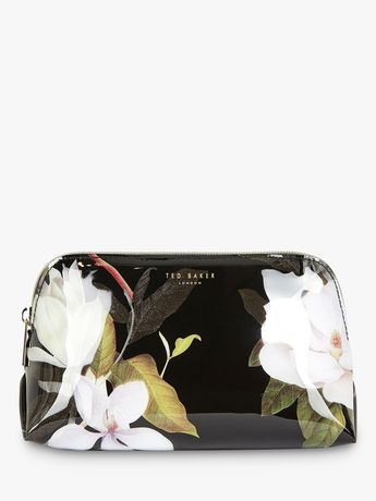 Ted Baker Lacee Large Opal Makeup Bag, Black