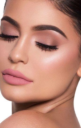 Weiches rosa Make-up