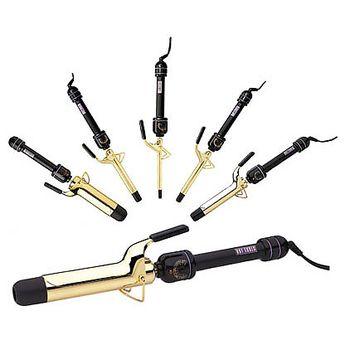 Hot Tools Curling Irons, love them! Legit plated in gold, makes you feel fab and they get so hot, curls amaze favorite clamp iron