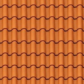 Textures Texture seamless | Clay roof texture seamless 1957