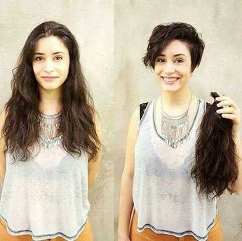 20+ Before and After Pics of Short Haircuts