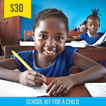 It's not too late to give a gift that changes a life! This holiday, gift a School Kit for a Child – they'll be provided with the tools and passion to learn! www.freethechildren.com/wishes