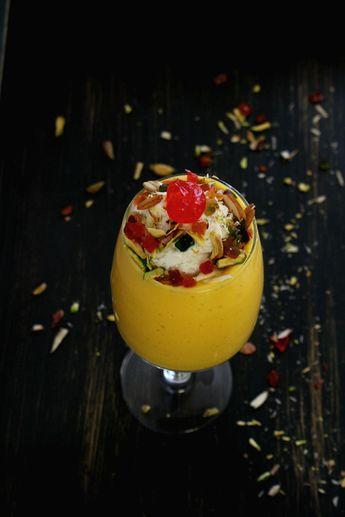 A must try recipe for Mango lovers - Mango Mastani recipe