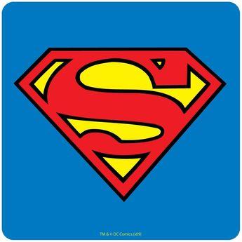 Set De 4 Sous Verres Superman - Taille : Taille Unique