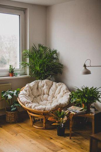 25 Comfortable Papasan Chair Design Ideas
