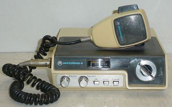 Vintage Motorola 4022 CB Radio As-Is